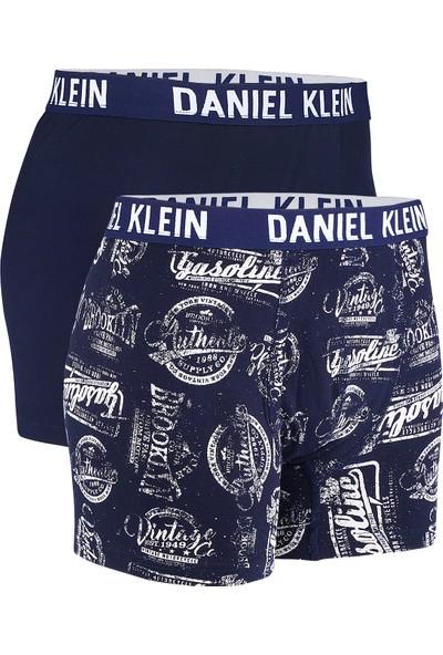 Daniel Klein Erkek Boxer İkili ve Desenli DKBX008-3-02