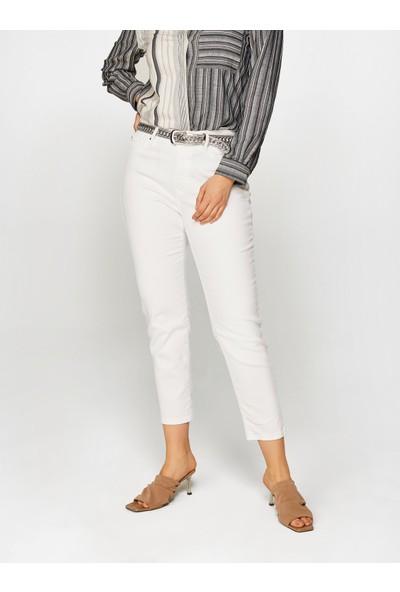 Faik Sönmez Kadın Normal Bel Bilek Boy Slim Fit Pantolon 60054