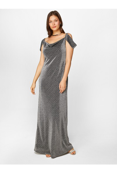 Faik Sönmez Kadın Abiye Elbise 60116