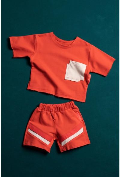 Moi Noi Renkli Cepli Bebek ve Çocuk 2 Parça Takım