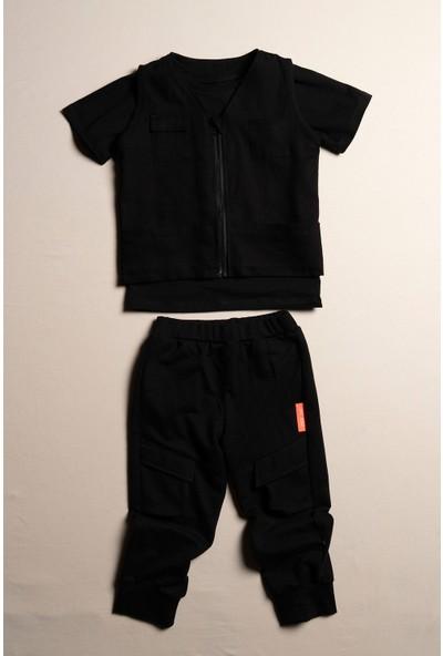 Moi Noi Erkek Çocuk Yelekli Pantolonlu 3 Parça Takım