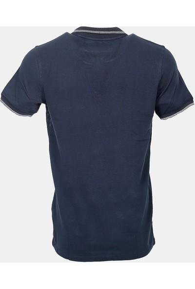 Jakamen Erkek Klasik Kalıp - Regular Fit T-Shirt-Jakamen Erkek Polo Yaka