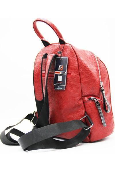 Just Polo Kadın Kırmızı Sırt Çantası