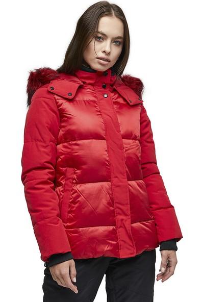 Nine West Kaban-U1341 Kırmızı Kadın Kaban