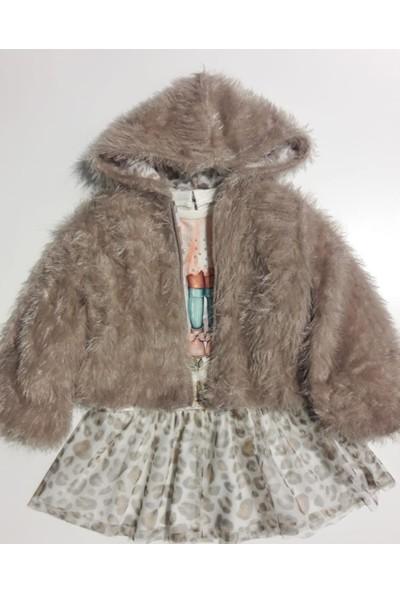 Gocoland 3213 Kız Çocuk Ceketli Elbise Takım 2-5 Y