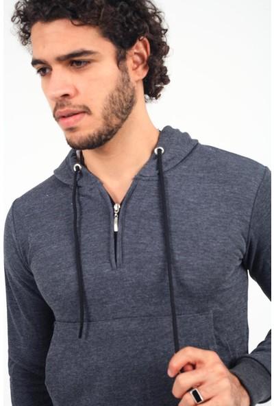 Oksit Hilti 202015 Slim Fit Parçalı Sweatshirt