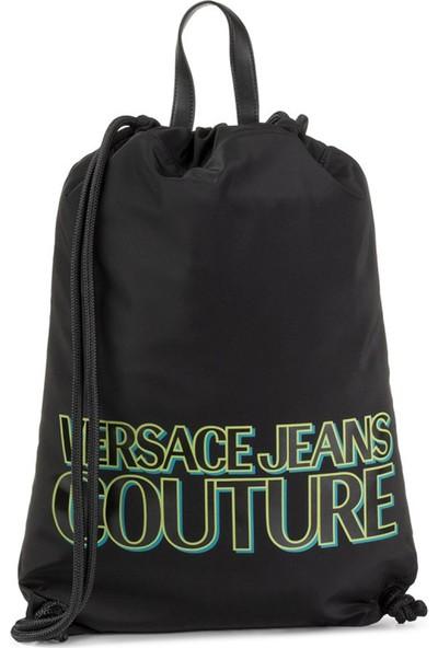 Versace E1Yubb90-E67 Siyah Sırt Çantası