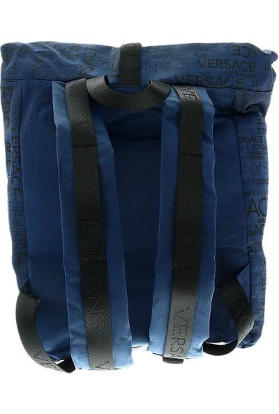 Versace E1Ytbb27-240 Lacivert Unisex Sırt Çantası