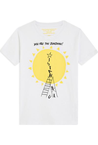Sunshine Istanbul Beyaz Tişört 66240620