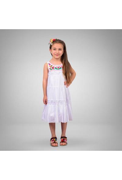 Tivido Nakışlı Yazlık Elbise