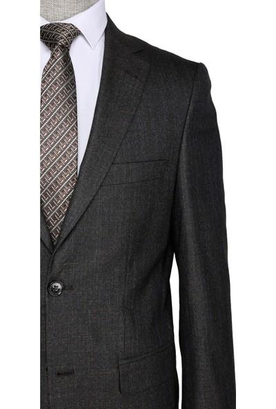 Buenza Lamberti Kahverengi Erkek Takım Elbise