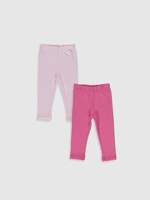 LC Waikiki Kız Bebek Pantolon Takım 2'li