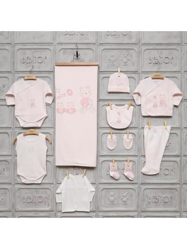 Bebitof Kız - Erkek Bebek Gezideki Ikizler 10'lu Hastane Çıkışı Set