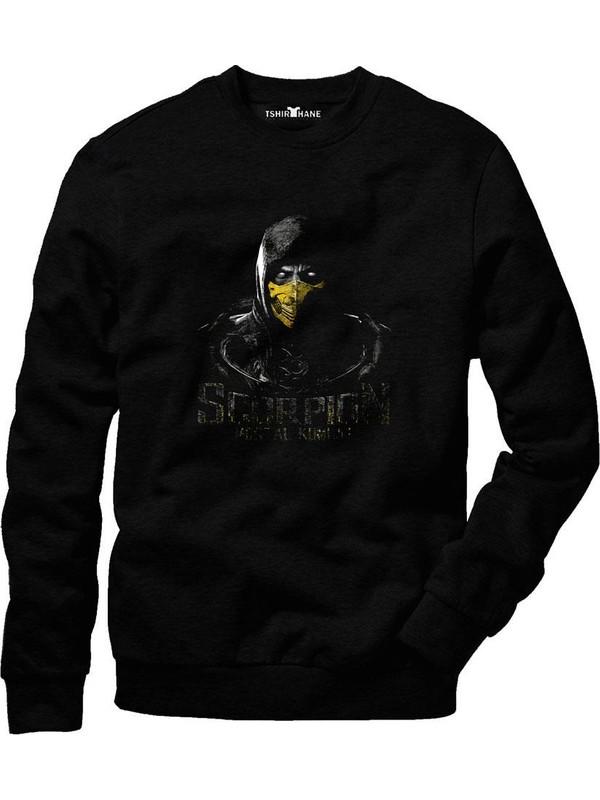 Tshirthane Mortal Kombat Scorpion Fatality 2 Sweatshirt