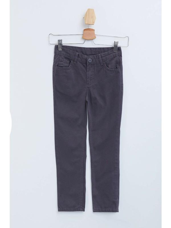 DeFacto Erkek Çocuk 5 Cep Dokuma Pantolon