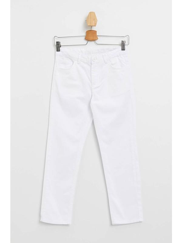 DeFacto Regular Fit Basic 5 Cepli Dokuma Pantolon M5171A620SP