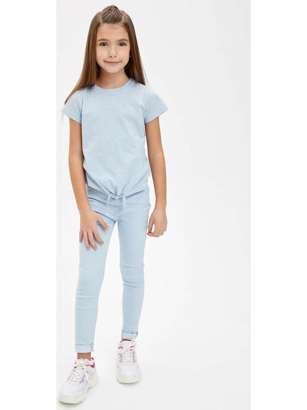 DeFacto Kız Çocuk Jegging Pantolon M8519A620SP