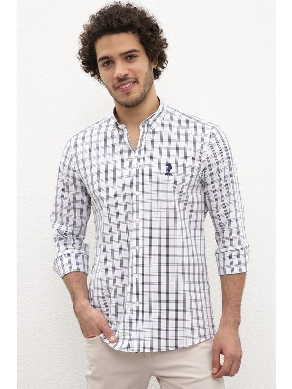 U.S. Polo Assn. Erkek Dokuma Gömlek 50221359-VR013