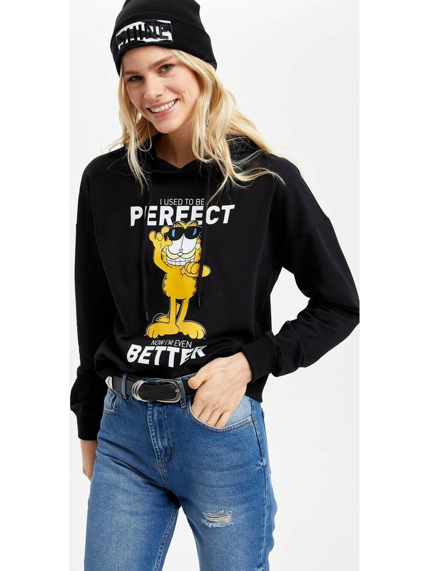 DeFacto Garfield Lisanslı Sweatshirt N3037AZ20SP