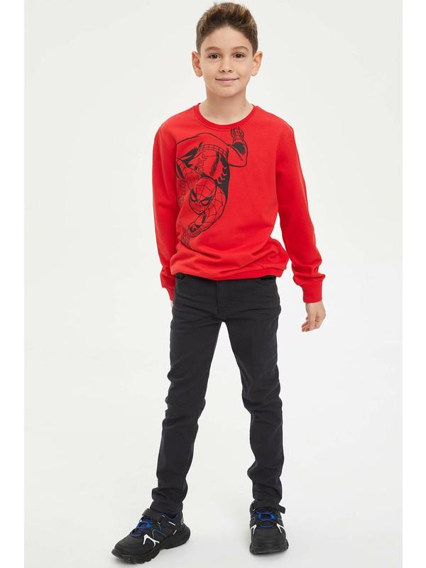 DeFacto Erkek Çocuk Ekstra Slim Fit Twill Pantolon