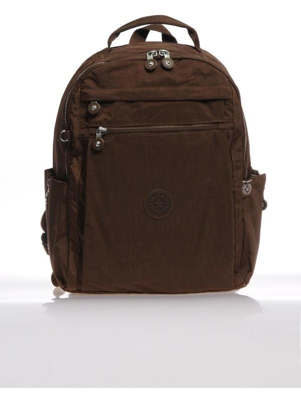 Smart Bags Koyu Kahve Kadın Sırt Çantası SMB1247