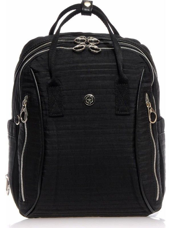 Smart Bags Siyah Kadın Sırt Çantası SMB3018