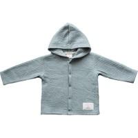 Miela Kids Kapüşonlu Ceket Tek Taraflı Mint 3 - 6 Ay