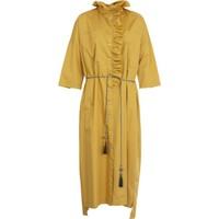 Bize Fashion 2302 Kadın Elbise Safran