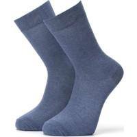 Ciorap 12'li Erkek Düz Çorap 4450-A12 40 - 44