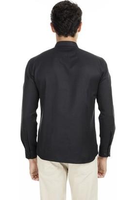 U.S. Polo Assn. G081Gl004-813815 Erkek Slim Gox Dokuma Gömlek 9K