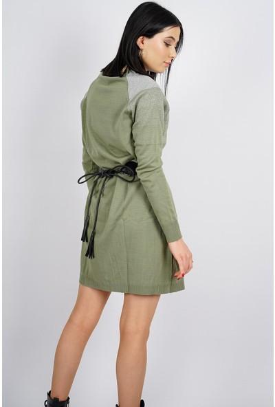 SpringStore Kadın Geçişli Simli Tunik