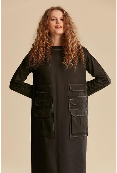 Tuğba & Venn Kadın Cepli Elbise