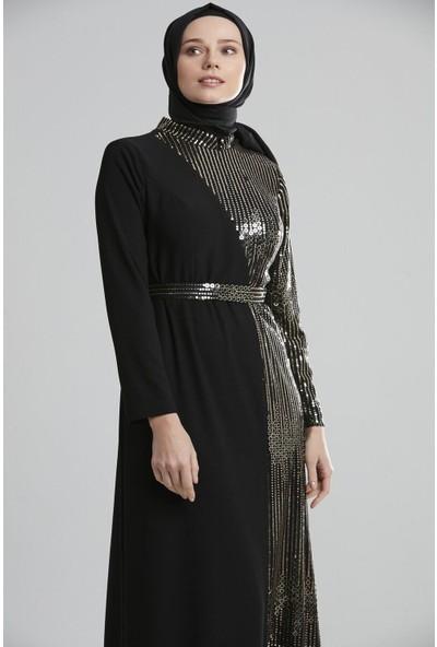 Tuğba & Venn Kadın Taşlı Abiye Elbise