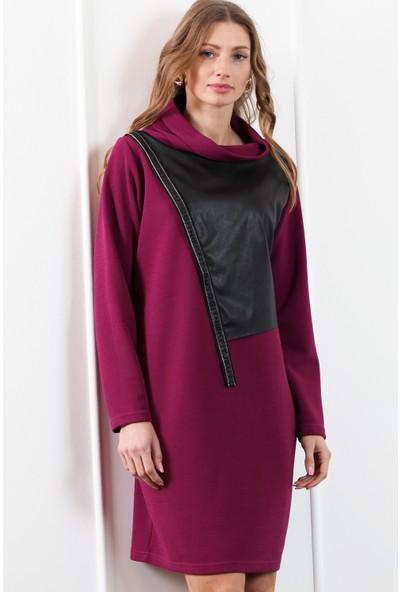 Herry Kadın Fuşya Elbise 20Dm1820