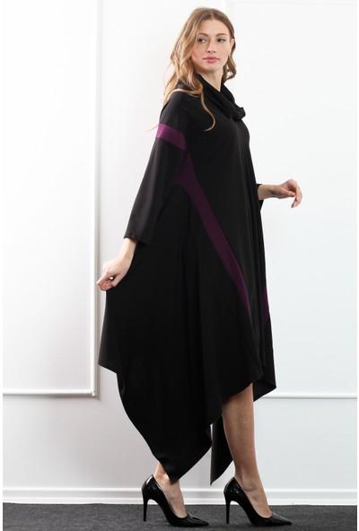 Herry Kadın Mor Elbise 20Dm1815