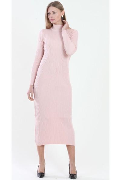 Pinkmark Kadın Pudra Elbise