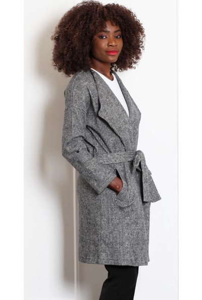 Pinkmark Kadın Siyah Kaban