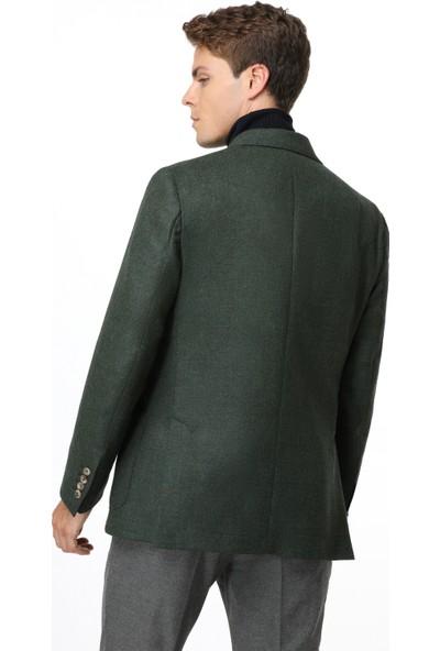 Tailor Made Slim Fit Yeşil Takım Elbise
