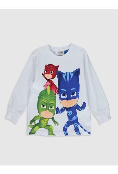 LC Waikiki Pijamaskeliler Erkek Çocuk T-Shirt