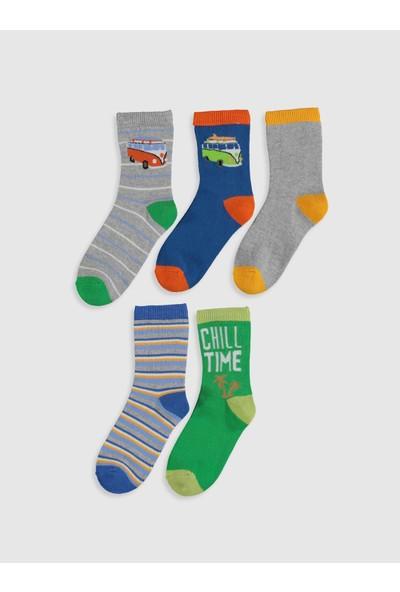 LC Waikiki Erkek Çocuk Soket Çorap 5'li