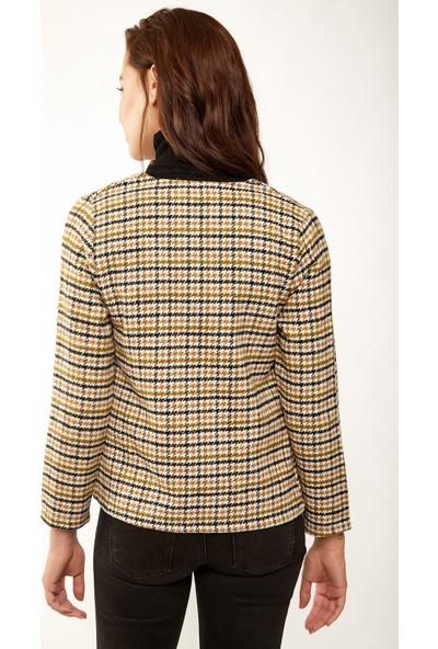 New Laviva Bej Kadın Ceket