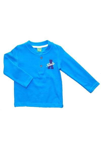 Hippo Selanik Sweatshirt Kadife Pantalonlu Erkek Çocuk Takım