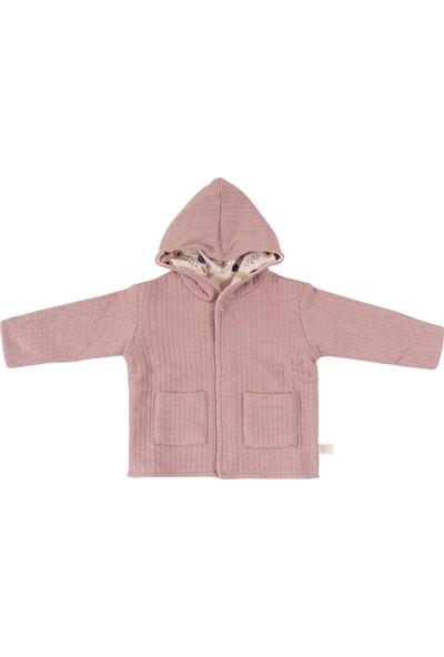 Miela Kids Kapüşonlu Ceket Çift Taraflı 2 - 3 Yaş