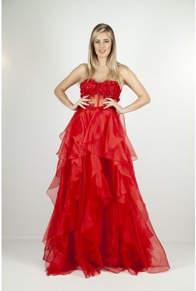 Ardanewline Kadın Kırmızı Abiye 1607042.08