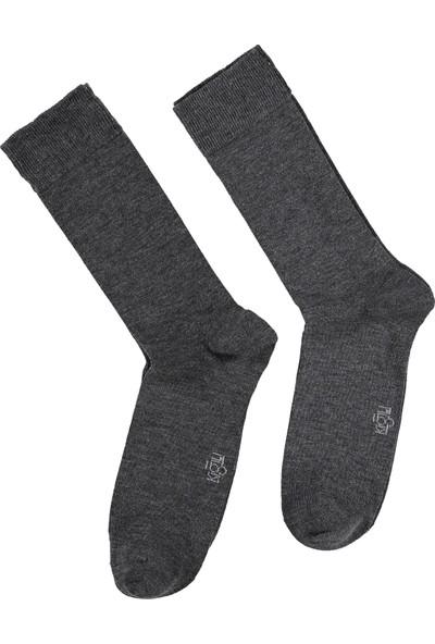 Kiğılı Erkek 2'li Düz Çorap