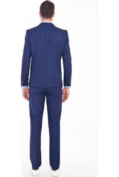 Kiğılı Erkek Desenli Takım Elbise