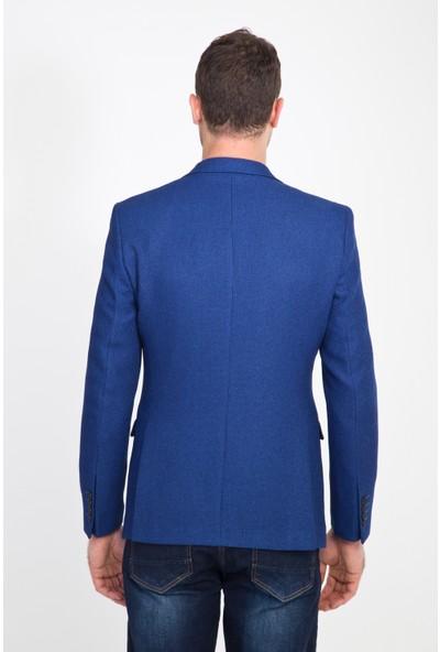 Kiğılı Erkek Klasik Desenli Ceket