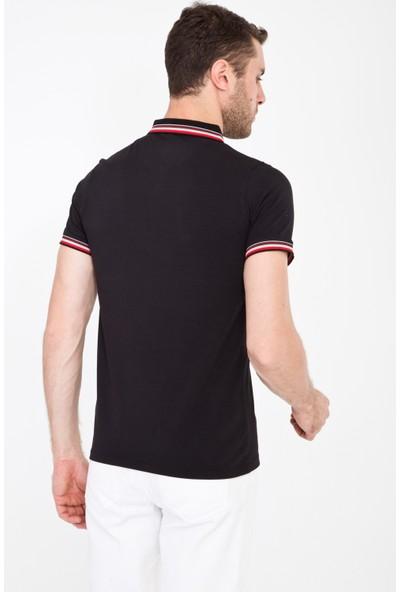 Kiğılı Erkek Polo Yaka Slim Fit T-Shirt