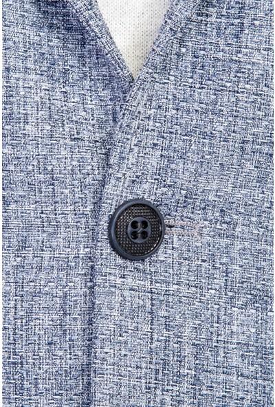 Kiğılı Erkek Slim Fit Desenli Ceket
