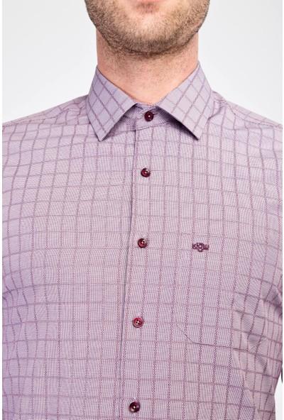 Kiğılı Erkek Uzun Kol Klasik Desenli Gömlek